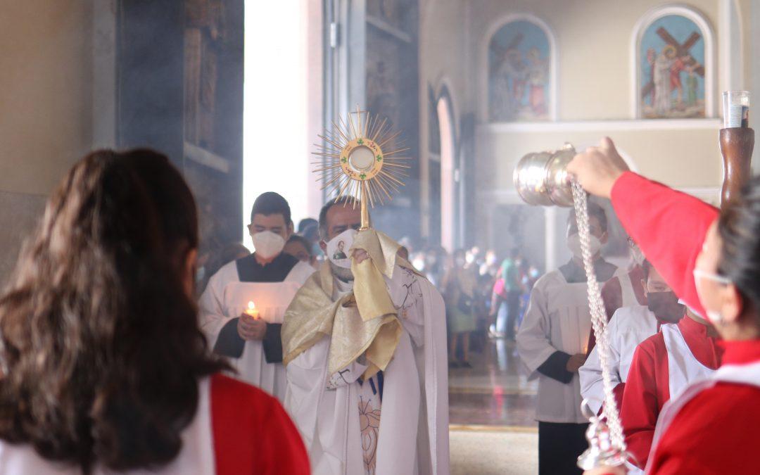 Visita del padre Inspector de los Salesianos en C.A