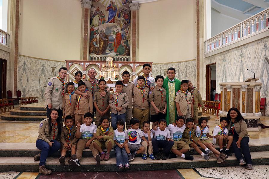 Los Exploradores de Don Bosco cumplen 5 años