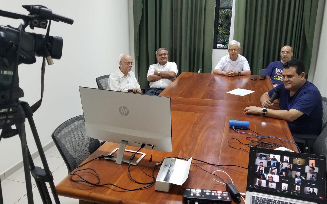 Convivio virtual MJS y Comunidad Salesiana